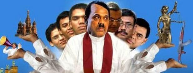 Image result for rajapaksa family cartoons