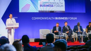 "'Our ""Blue-Green"" economic plan ensures resource utilization in a sustainable manner' – President at Commonwealth Business Forum"