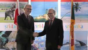 Ambassador CAHM Wijeratne, met with Mr Pawel Niewiadomski, President of Polish Chamber of Tourism.