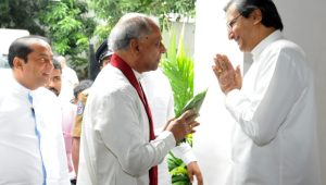 MINISTER DINESH GUNAWARDENA CALLS ON FOREIGN MINISTRY OFFICIALS TO RISE TO NEW CHALLENGES