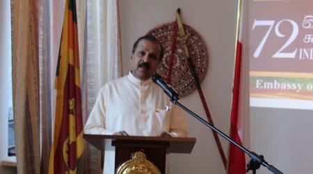 72nd Independence Ceremony – Embassy of Sri Lanka, Warsaw