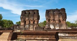 Sacred Quadrangle Vatadage Polonnaruwa Sri Lanka 10