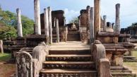 Sacred Quadrangle Vatadage Polonnaruwa Sri Lanka 13