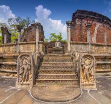 Sacred Quadrangle Vatadage Polonnaruwa Sri Lanka 22