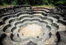 Sacred Quadrangle Vatadage Polonnaruwa Sri Lanka 31