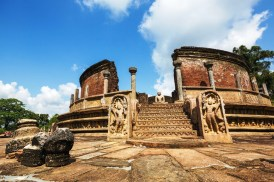 Sacred Quadrangle Vatadage Polonnaruwa Sri Lanka 34