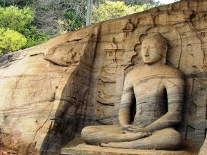 Sacred Quadrangle Vatadage Polonnaruwa Sri Lanka 39