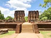 Sacred Quadrangle Vatadage Polonnaruwa Sri Lanka 4
