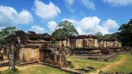 Sacred Quadrangle Vatadage Polonnaruwa Sri Lanka 41