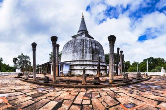Sacred Quadrangle Vatadage Polonnaruwa Sri Lanka 49