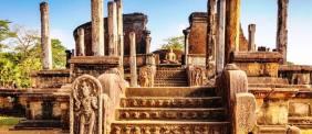 Sacred Quadrangle Vatadage Polonnaruwa Sri Lanka 5