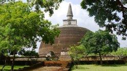 Sacred Quadrangle Vatadage Polonnaruwa Sri Lanka 53
