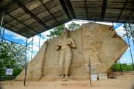 Sacred Quadrangle Vatadage Polonnaruwa Sri Lanka 58