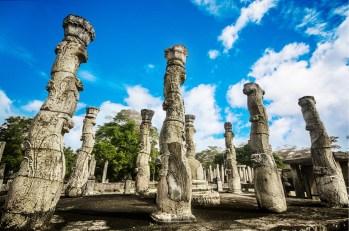 Sacred Quadrangle Vatadage Polonnaruwa Sri Lanka 59