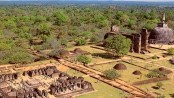 Sacred Quadrangle Vatadage Polonnaruwa Sri Lanka 8