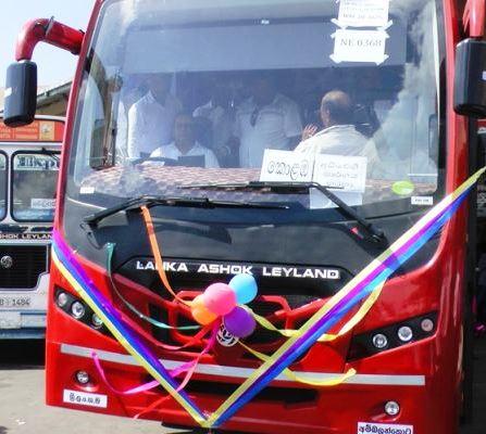 Luxury Buses Matara Kataragama Hambantota Highway 1