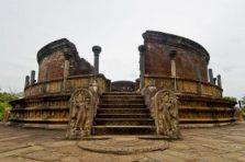 Polonnaruwa ancient city of Sri lanka