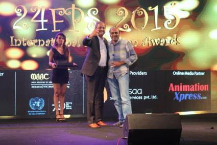 Movers & Shakers 24Fps award 2015 for Baahubali Visual effects