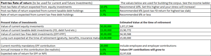 FIRE Up - Comprehensive calculator for Early Retirement 4