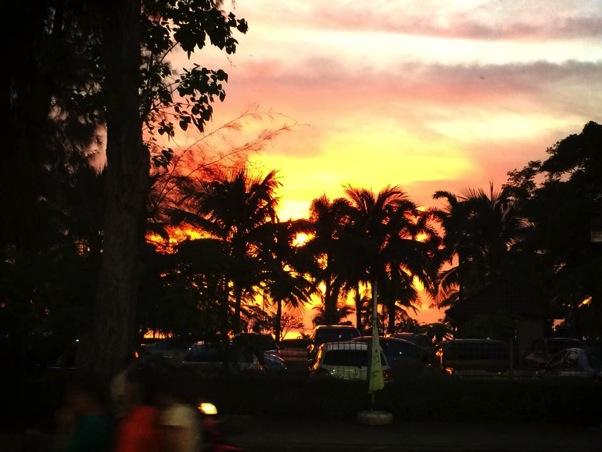 sun set sriracha