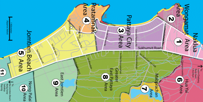 pattaya area