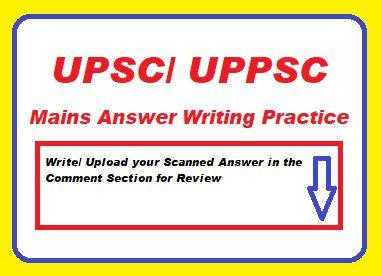 Mains Answer Writing