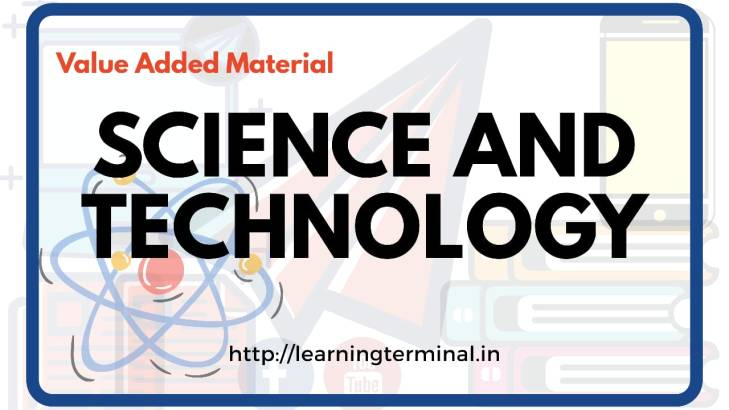 upsc science and tech