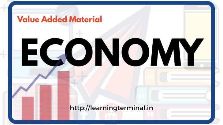 UPSC Economy