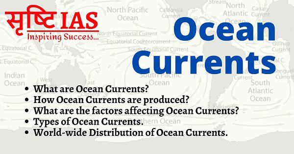 ocean currents upsc