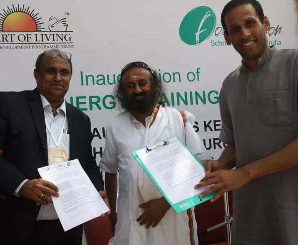 The Art of Living Inaugurates Skills Training Center To Electrify India With Solar Power