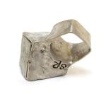 pyrite cube ring susan ritter
