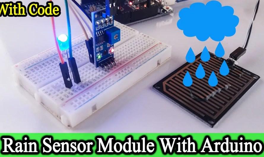 RAIN SENSOR Tutorial | RAIN SENSOR with Arduino Uno