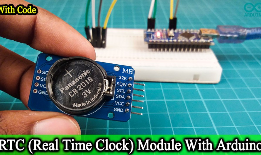 How does work RTC(Real Time Clock) module with Arduino.