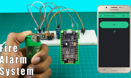 IoT based fire alarm system using Nodemcu ESP8266 and Blynk