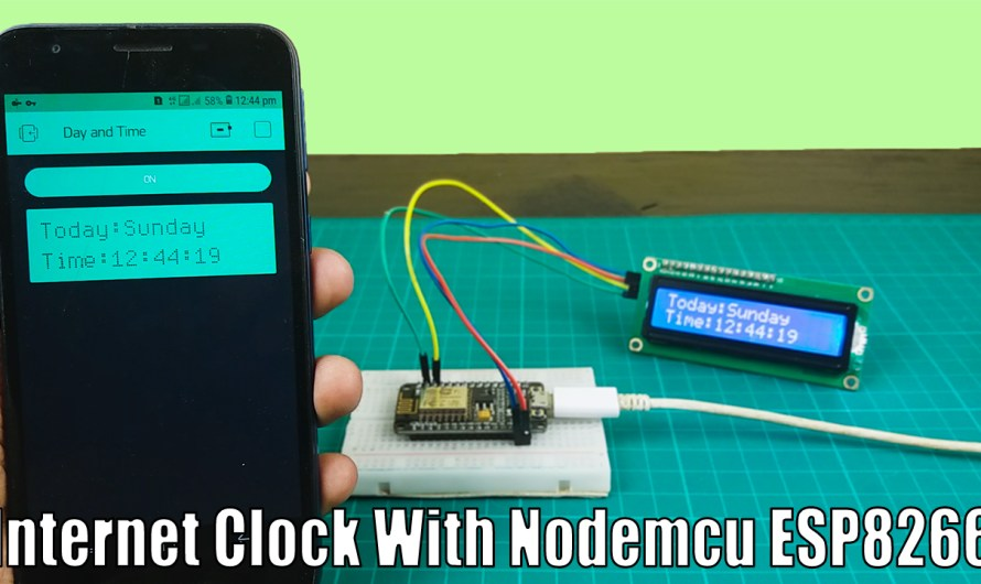 How to get the Day and Time through the internet with the Nodemcu ESP8266