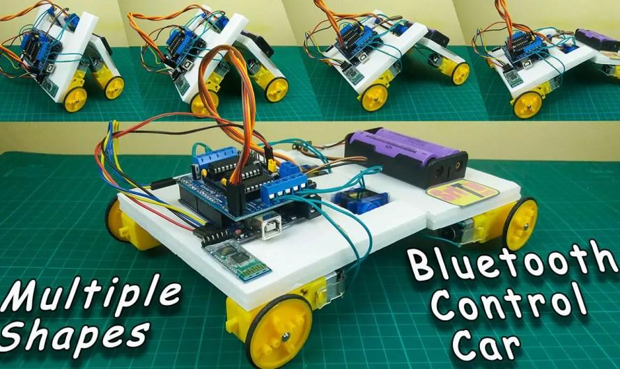 How to make a customizable Bluetooth controller car using Arduino