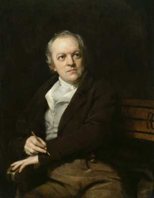 NPG 212; William Blake by Thomas Phillips