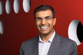 Environmental Headshot of Anil Chakravarthy - CEO of Informatica