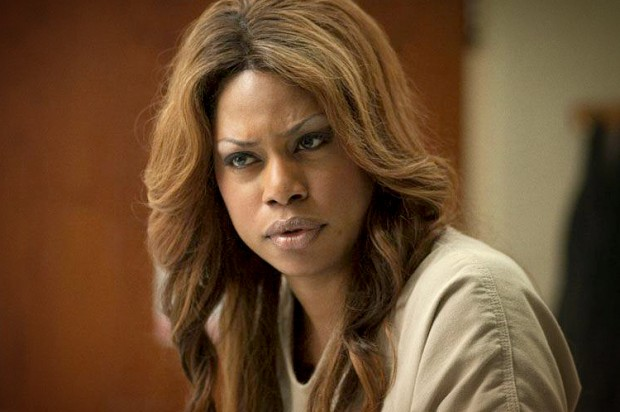 Laverne Cox playing Sophia Burset