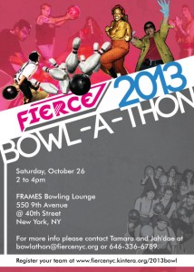 FIERCE bowlathon