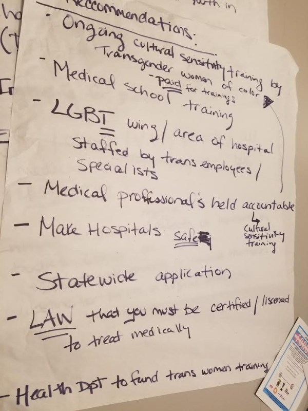 What's Up with Trans Healthcare? | SRLP (Sylvia Rivera Law