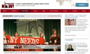 SRLP on democracy now