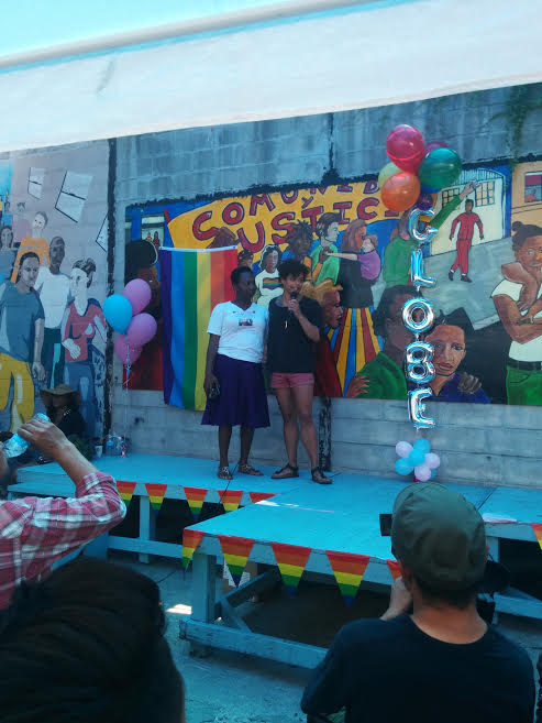 Lordes and Reina at Bushwick Pride