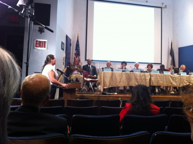 SRLP's member, Xena, spoke about her experience in confinement during a Board of Corrections hearing during last fall.