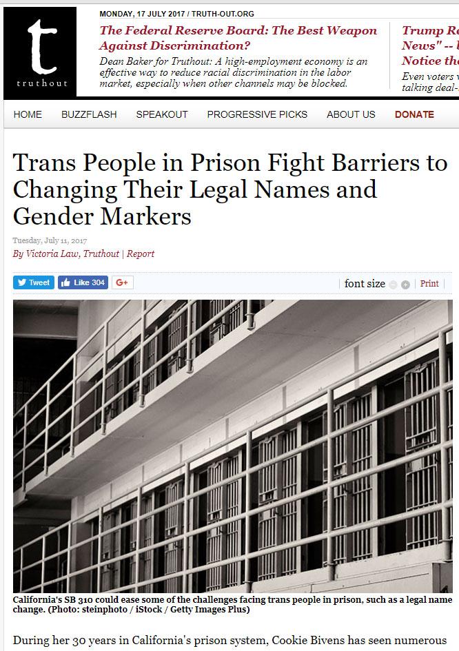 SRLP's Mik Kinkead Talks About Name Changes in Prisons