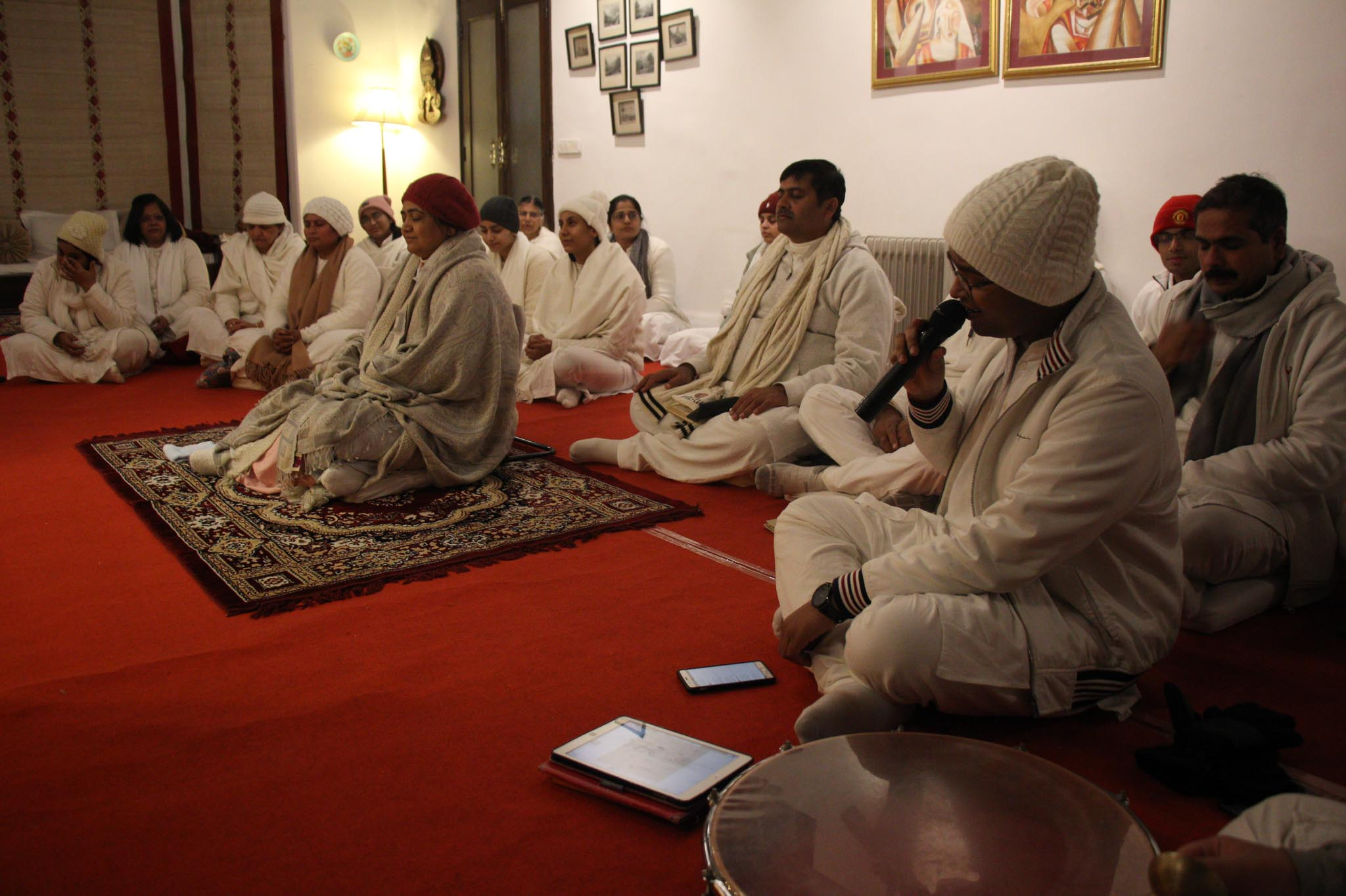 Sadhana with Sri Guru