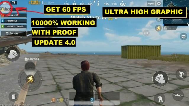 FPS in PUBG