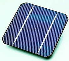 Image of a solar cell.