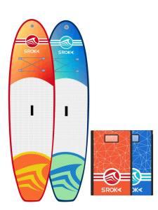 Malibu 10 blue: orange paddle inflatable sroka