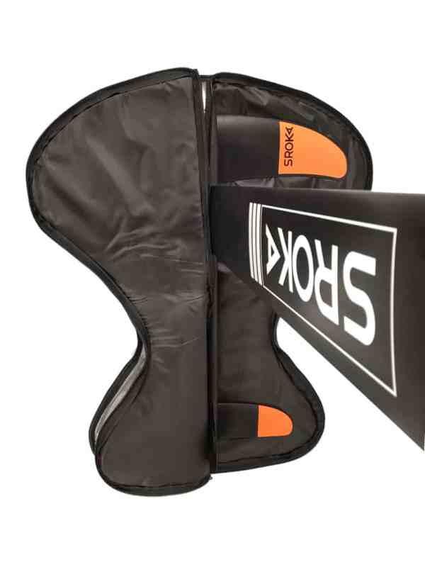Kitefoil protection bag for assembled foil